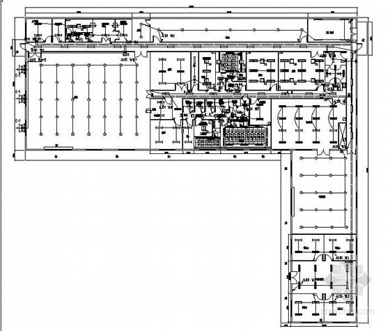 [广西]某净化水厂电气施工图