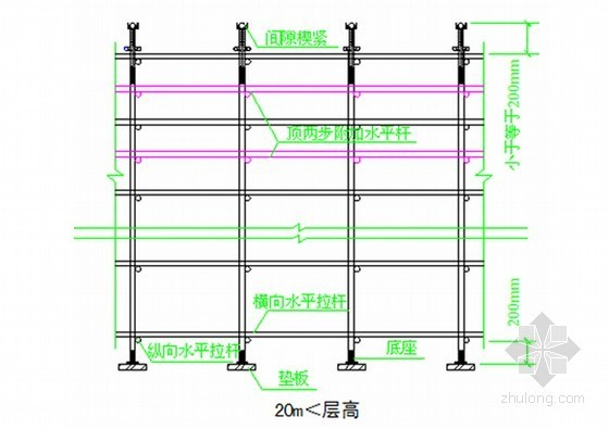 住宅楼工程高支模工程施工方案(附计算书)