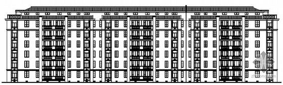 某六层住宅楼建筑设计方案图