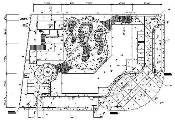 海南写字楼环境全套施工图