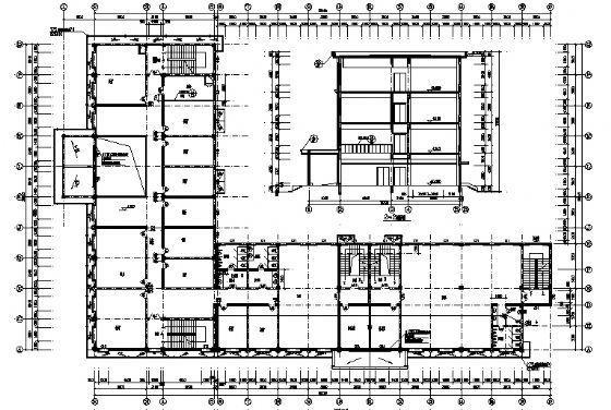 四层小型酒店建筑施工图-3