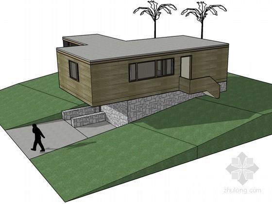 坡地住宅建筑