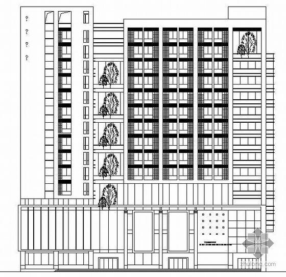 [河南省]某地质工程公司办公楼设计方案(有效果图)