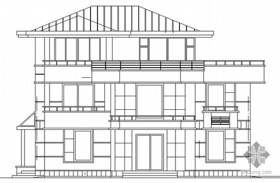 某三层别墅建筑设计施工图