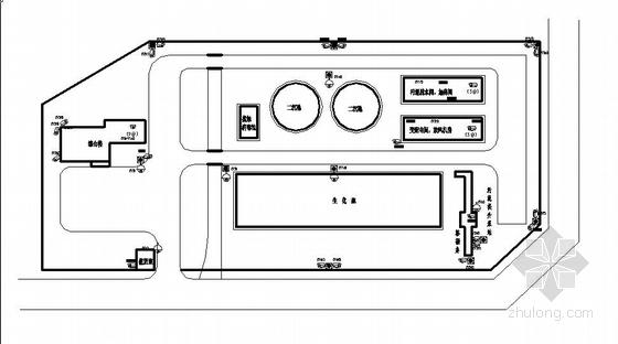 某污水处理厂视频监控系统图纸