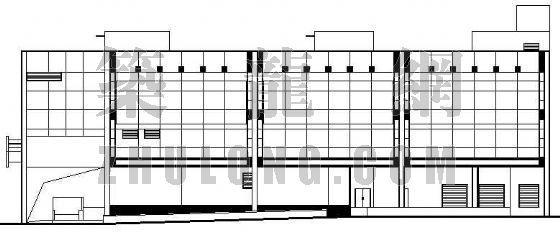 某城市沃尔玛超市建筑施工图