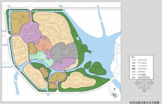 [上海]滨江英式居住区景观方案设计-空间分析