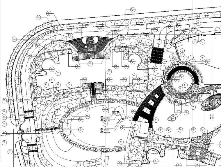 [上海]盛大金磐花园全套景观设计施工图设计(包含82个CAD)