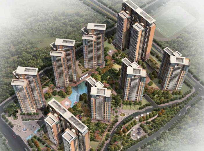 [广东]深圳大冲旧村改造项目还迁自住商品房区概念方案设计文本