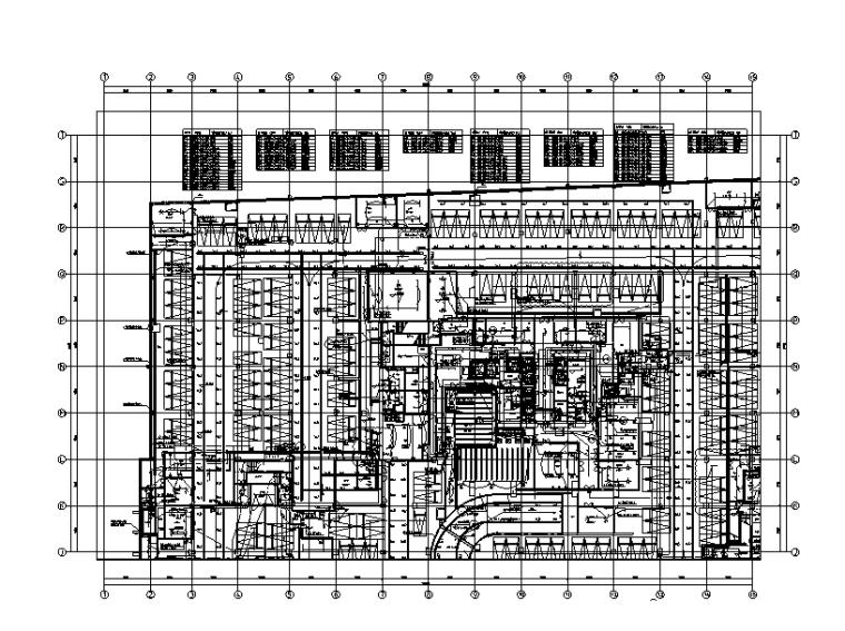 城市综合体地下室强电招投标图纸