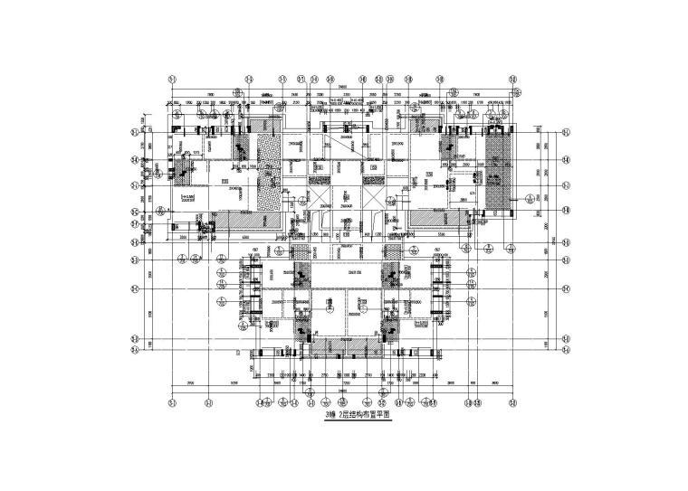 阳江绿地中心高层住宅楼施工图(建筑结构电气,2018,16G101)