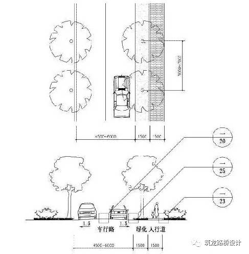 万科住宅内的道路设计,标准和施工做法,都是经验呀!!_8