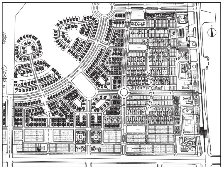 [河北]固安工业区76公顷居住区规划设计最终文本