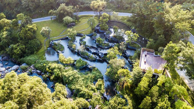 罗浮净土人文纪念园入口公园