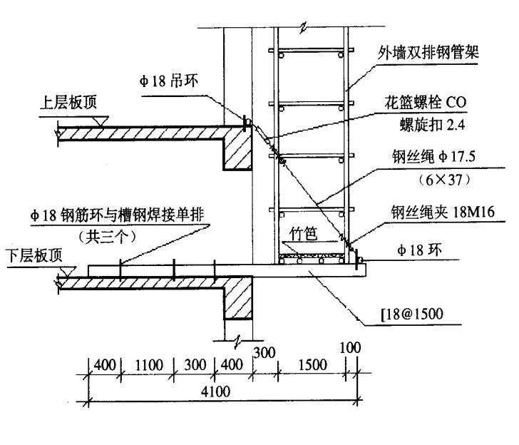 建筑工程脚手架工程量计算规则图文详解