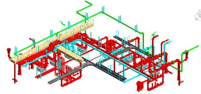 看BIM技术如何应用于风管水管预制安装?_13
