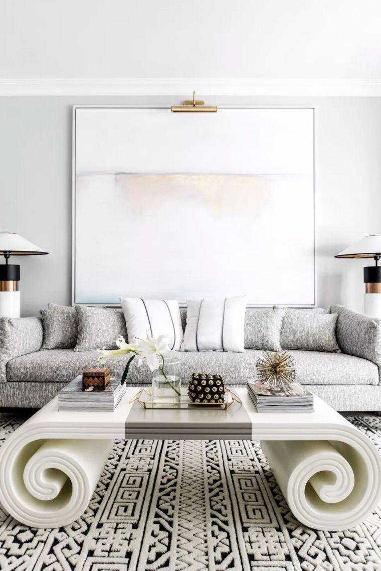 150㎡現代風公寓,線條簡潔卻奢華、舒適!
