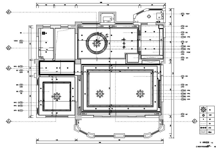 高级灰空间别墅设计施工图(附效果图)