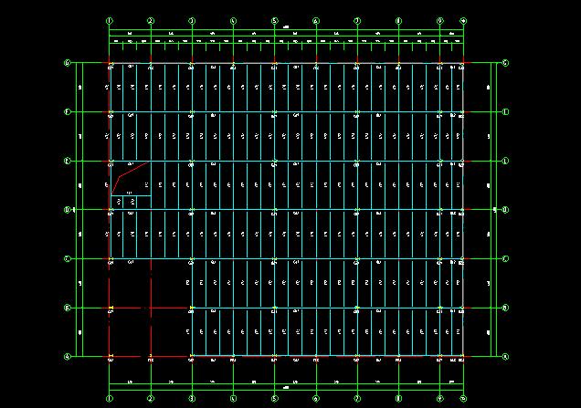 门式刚架带夹层结构二层厂房建筑结构施工图_7