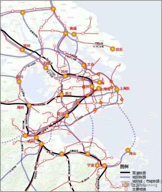 上海大都市圈轨道交通详解:城轨互连!通勤高铁、铁路密布_19