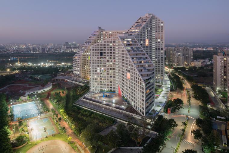 印度浦那未来之塔建筑-0038_Future_Towers_Pune_©Ossip