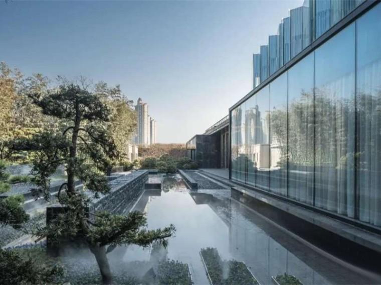西安万科翡翠澜岸展示区景观