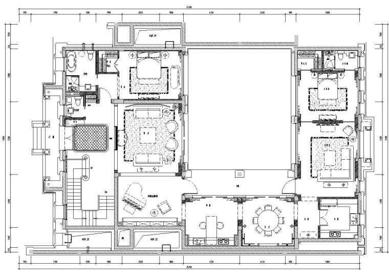 [上海]绿城·御园·法合别墅样板房施工图设计文本(包含CAD+实景图)