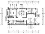 东方风情 新中式绿城百合花园别墅设计施工图(附效果图+软装方案...
