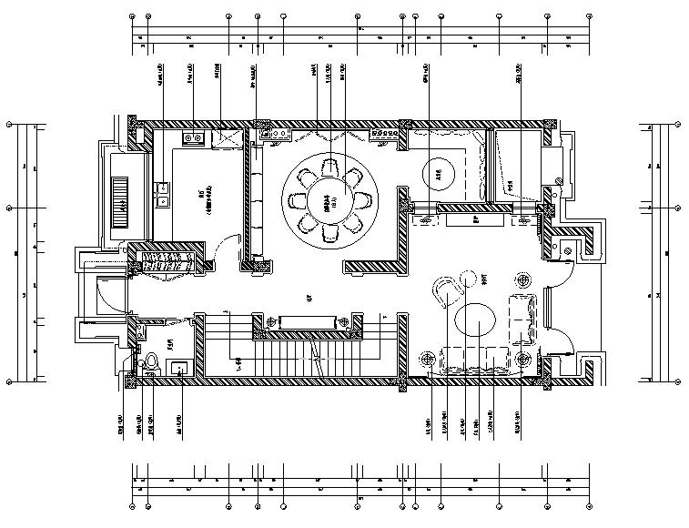 东方风情|新中式绿城百合花园别墅设计施工图(附效果图+软装方案)
