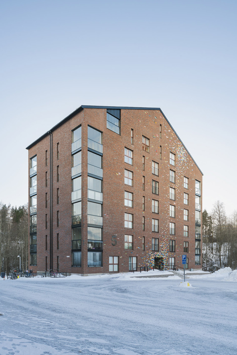 芬兰Albertinpiha公寓楼-3