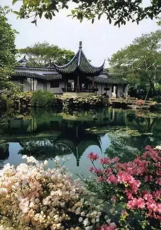 人间有味是清欢,怎样设计一个中式院子_17