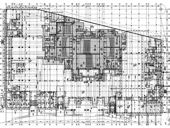 [贵州]10万平大型商业综合体给排水全套图纸(中水处理 同层排水)