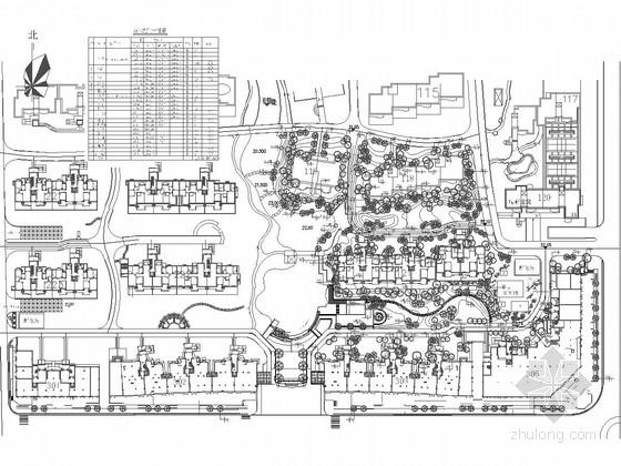 [湖北]商住混合型居住区景观规划设计施工图