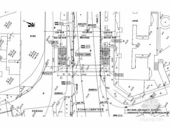 [重庆]加油站地下人行通道结构图(含计算书)