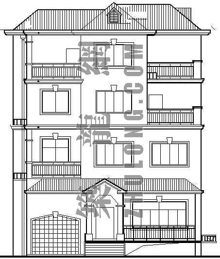 某别墅建筑施工图(全套)