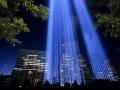 为纪念美国911事件十四周年创建的纪念广场