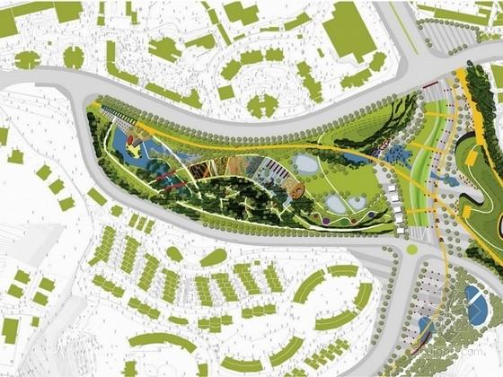 [重庆]环球绿带儿童主题公园景观设计方案