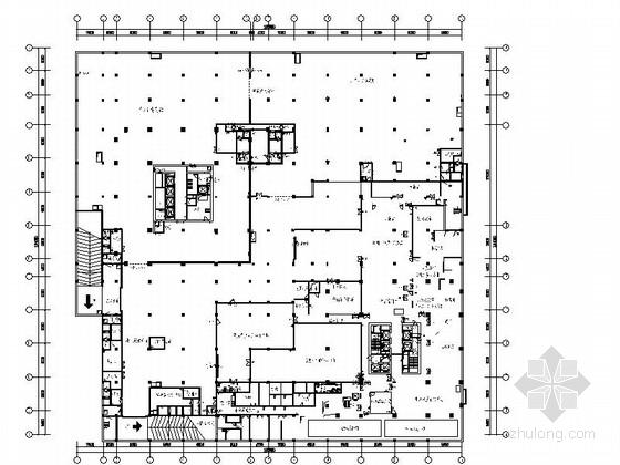 [江苏]中日合资企业饭店卫生间室内装修施工图(含效果)
