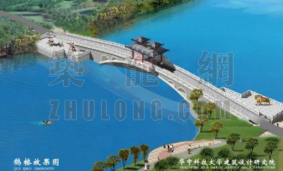 武汉东湖落雁景区园林建筑工程