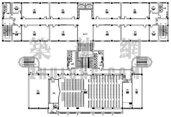 某教学楼平面图设计方案
