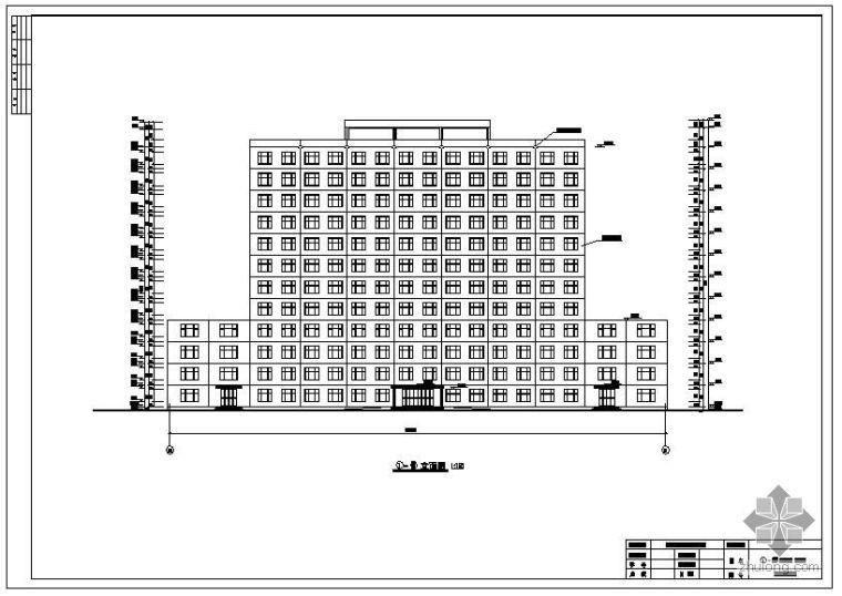 [学士]沈阳某12层综合办公楼毕业设计(含计算书、建筑结构设计图)