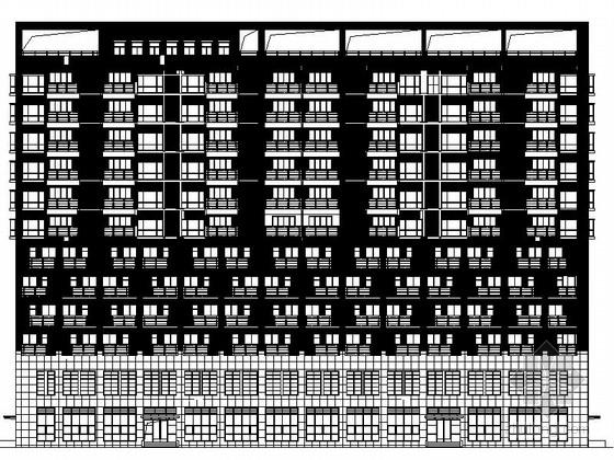 [贵州]某十二层养老院建筑施工图