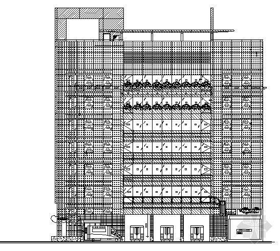 某六层传染病医院建筑方案图