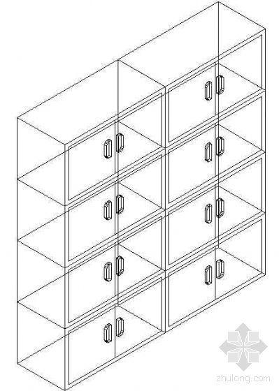 办公家具CAD模型16