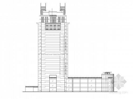 [北京]21层办公楼建筑施工图