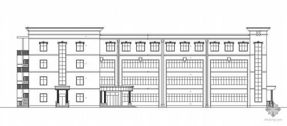 [涟水县]某中学框架结构教学楼毕业设计方案(含计算书和前期材料)