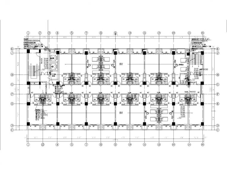综合宿舍楼水暖全套施工图设计