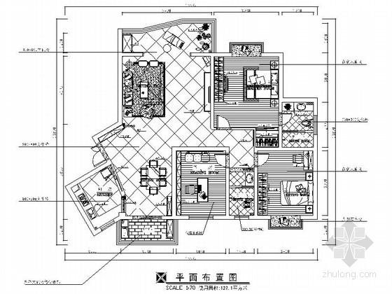 [常德]美景小区现代风格两居室装修图(含效果图)
