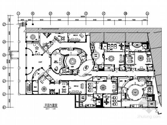 [海南]私家海滩五星级度假酒店豪华欧式娱乐会所装修施工图(含效果及实景)