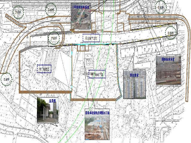 浙江铁路南站含地下室南广场及配套周边道路施工技术标42页A3版